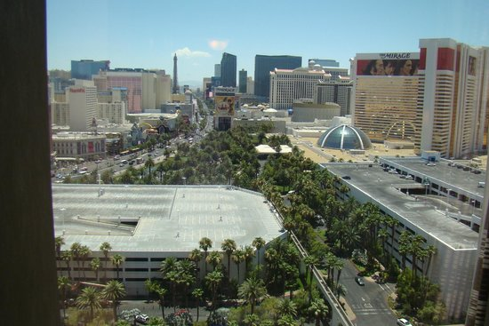 Treasure Island - TI Hotel & Casino: View from our room