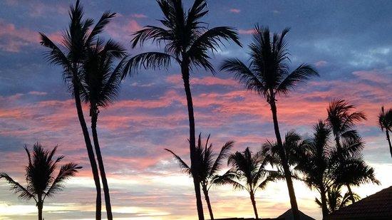 "Occidental Nuevo Vallarta: Sunset from ""La Buffet"" balcony."