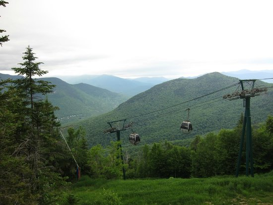 Loon Mountain: View from teh top of the gondola