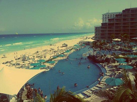 Hard Rock Hotel Cancun: my room view