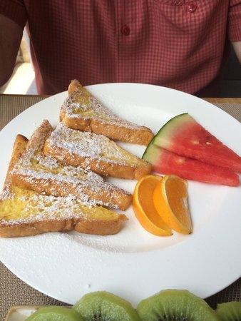 The HuLu Hotel: breakfast