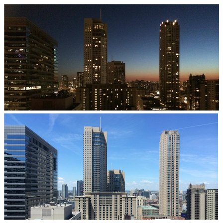 Chicago Marriott Downtown Magnificent Mile: Night & Day