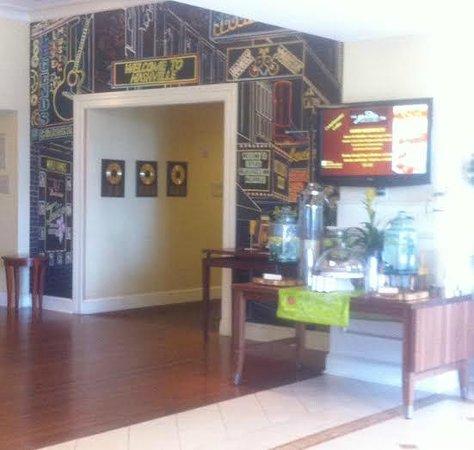 Hilton Garden Inn Nashville/Vanderbilt: Welcome area