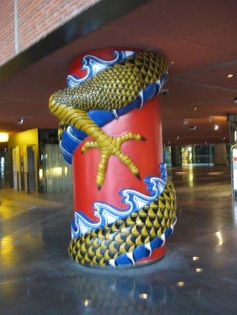 Azkuna Zentroa: colonna cinese