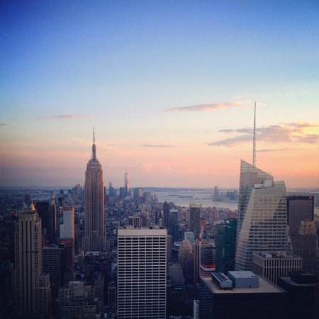 Top of the Rock Observation Deck: The incredible view!