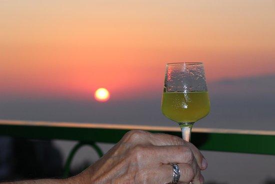 Il Nido Hotel Sorrento: Mama's limoncello!