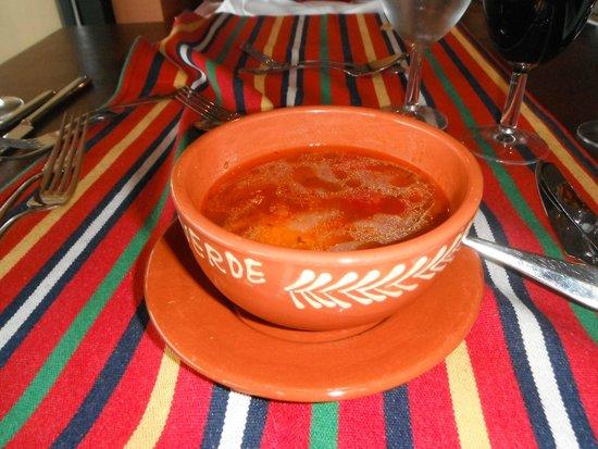 Pestana Porto Santo All Inclusive: Sopa de tomate tipica da Madeira