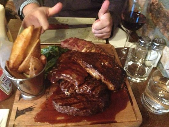 Whitefriar Grill: Another picture of the food
