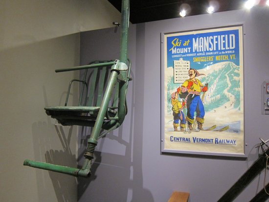 Vermont Historical Society Museum: Old chairlift