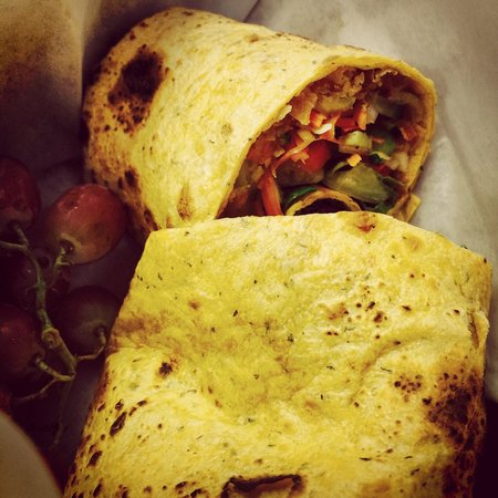 Soldi Creative Cuisine: Asian Veggie Wrap