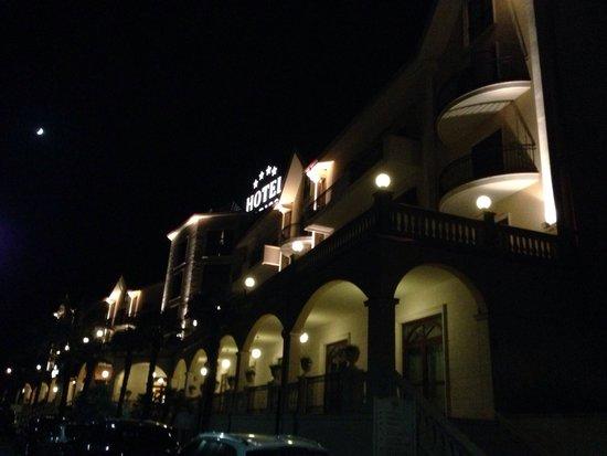 Federico II Palace Hotel : Notturno!