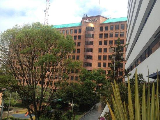 NH Collection Bogota WTC Royal: Desde habitación 2do piso