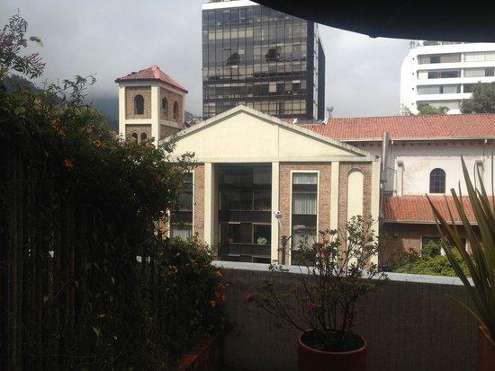 NH Collection Bogota WTC Royal: Vista Iglesia cercana