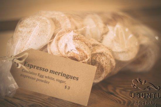 ubuntu cafe and bakery: Espresso meringues