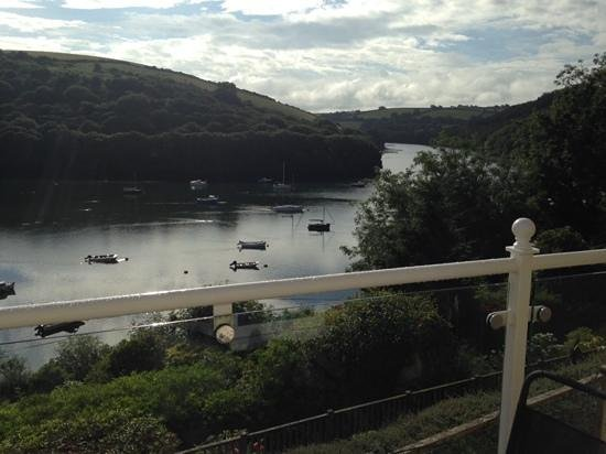 The Cormorant Hotel : the view from the Cormorant Room