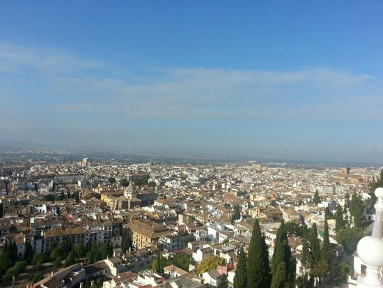 Alhambra Palace Hotel: Vistas desde la habitación