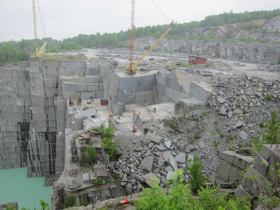 Rock of Ages : The quarry