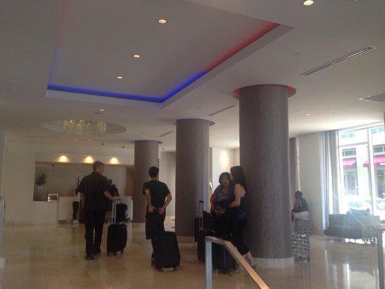 YVE Hotel Miami: Hotel lobby.
