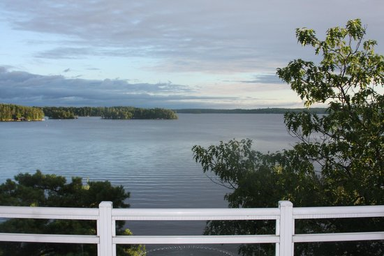 Touchstone Resort on Lake Muskoka : Gorgeous view from our room