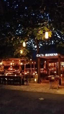 Casa Banana: great grilled food and nice drinks