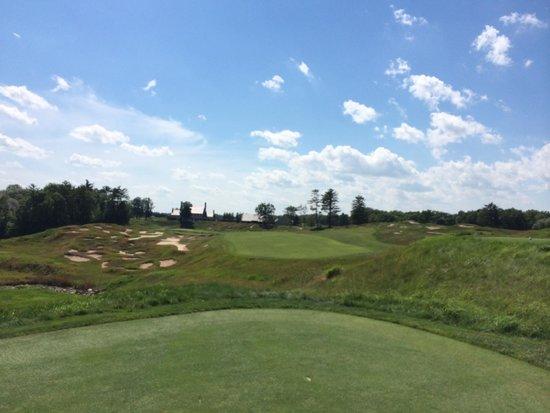 Whistling Straits Golf Course - Straits and Irish : 18th tee