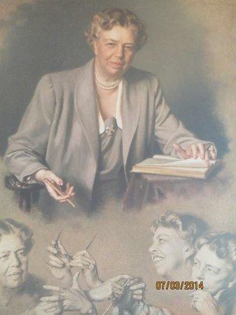 Roosevelt Campobello International Park: Eleanor Roosevelt Poster