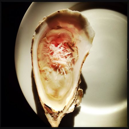 Pazzo Taverna and Pizzeria: oyster from the seafood tower