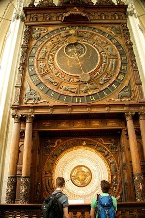 Berlin City Tours: Astronomical Clock in St. Marien's Church, Rostock.