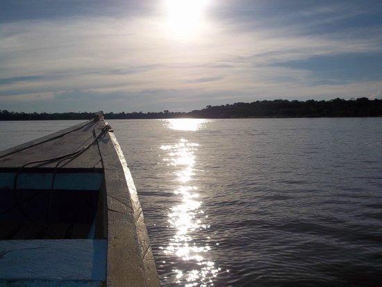 Reserva Natural Palmari : Uno de los muchos atardeceres