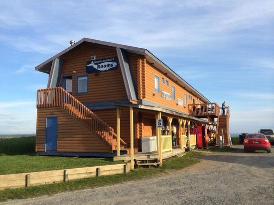 Beluga Lookout Lodge & RV Park: Outside view of the hotel