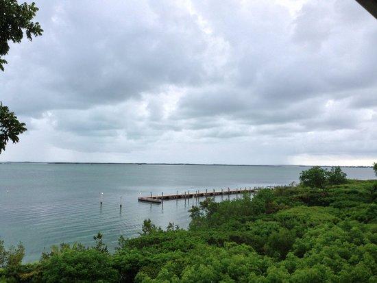Hilton Key Largo Resort: view from 4th floor