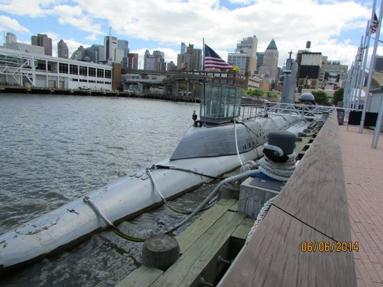 Intrepid Sea, Air & Space Museum : sub