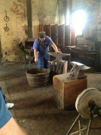 Biltmore Estate: Blacksmith Working