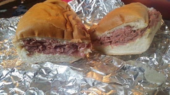 Hoagie Shop The : Another of the pepper beef.