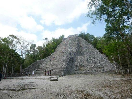 Ruines de Cobá : Coba
