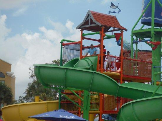 Coco Key Water Resort : Kids Slides