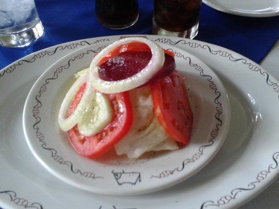 El Tiscapa: Entree Salad