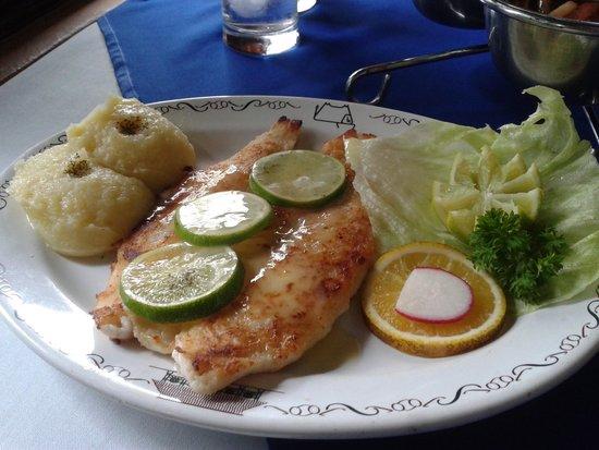 El Tiscapa: Fish Meuniere