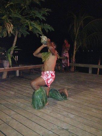 Savaii Lagoon Resort: Fiafia night