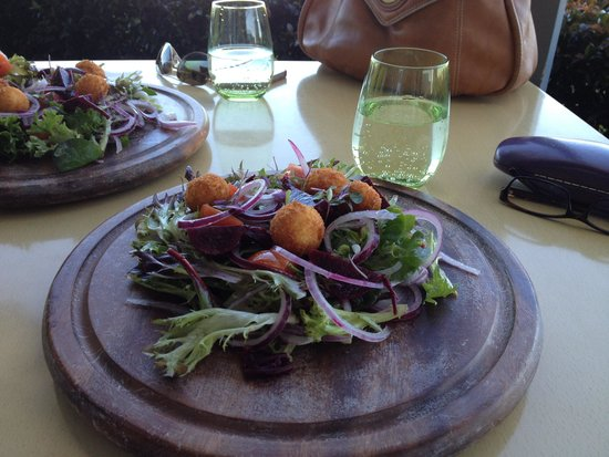 Emerson's Cafe & Restaurant: Salad Of Salt Roasted Baby Beets & Binnorie Labna With A Honey Truffle Dressing