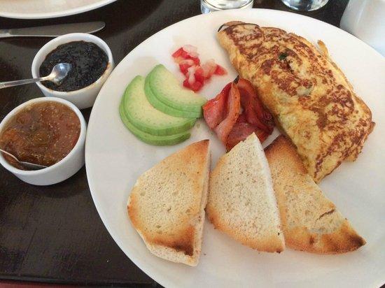 El Albergue Ollantaytambo : breakfast