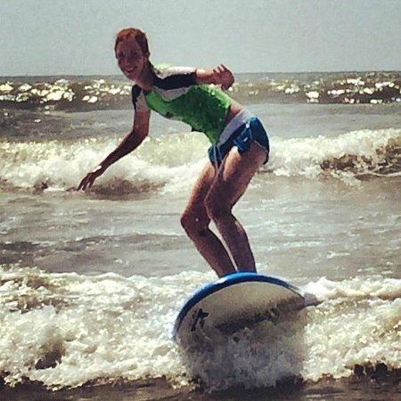Charleston Surf Lessons: Surfing