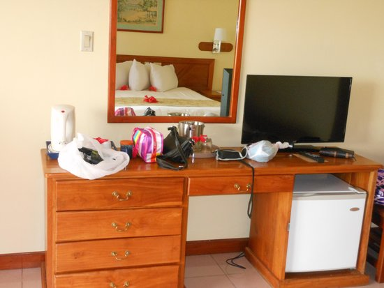 Le Grand Courlan Spa Resort: room view interior