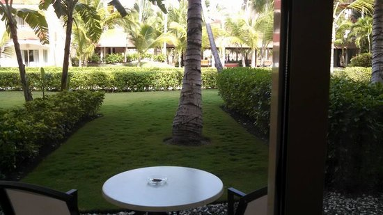 Majestic Colonial Punta Cana: Backyard view from Jr. Club Suite with Jacuzzi