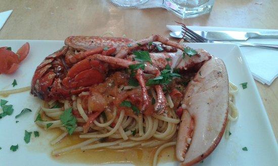 Yammo! Neapolitan Street Food Kitchen & Cocktail Bar : pasta con astice