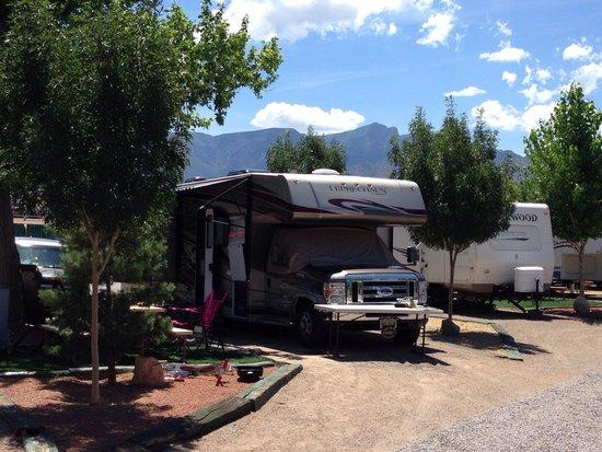 Albuquerque North Bernalillo KOA Campground : Site