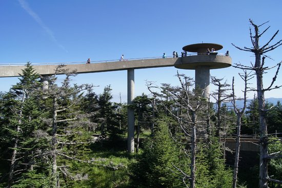 Clingmans Dome: observation tower
