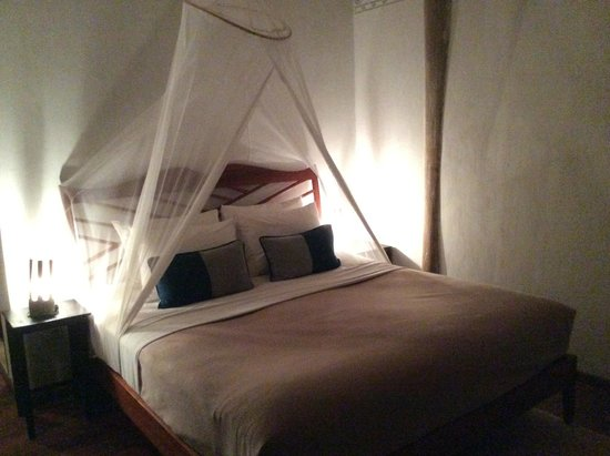 My Dream Boutique Resort: Loved the mosquito net around the bed