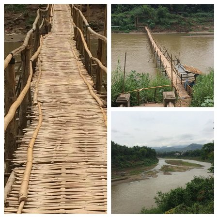 My Dream Boutique Resort: The Bamboo bridge to town