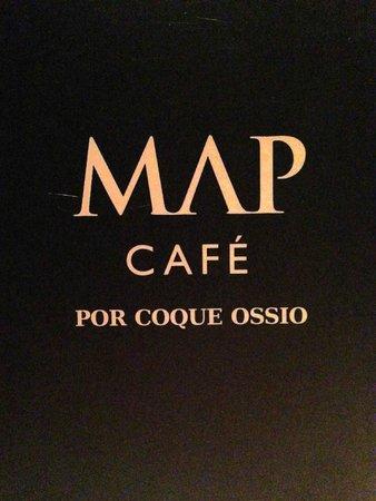 MAP Café: menu